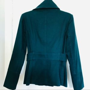 Teal Pea Coat NEW